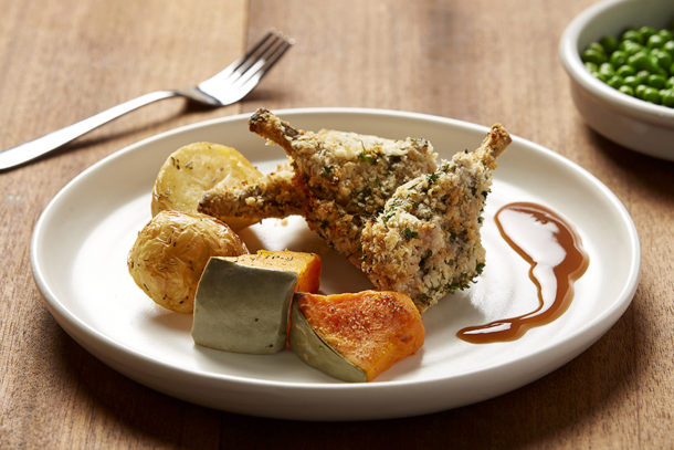 Photos of what melbourne home delivery meals look like crumbed lamb cutlets forumfinder Images