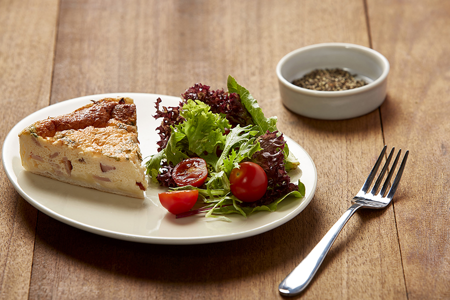 Quiche fresh food delivery melbourne choice fresh meals egg and bacon quiche forumfinder Images