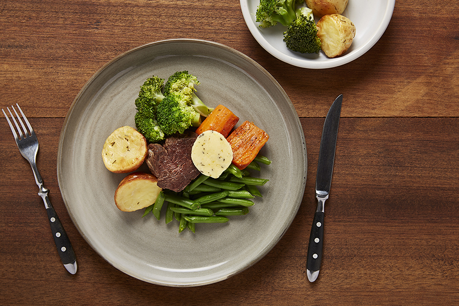 Eye Fillet with Rosemary & Garlic Butter