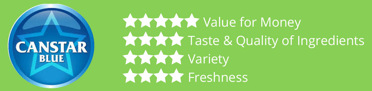 canstar rating choice fresh meals